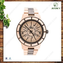 Hand Made 100% Natural Real Wood New Products Price Of Western Watches