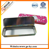 Wholesale Tin pencil case for teenagers