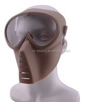 Flying plastic Airsoft Masks / Safety Paintball Mask / Military Tactical Goggle Mask Outdoor Protective Mask