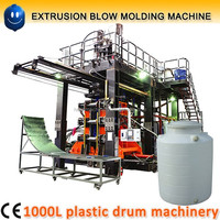 1000 liter plastic water tank making machine / blow moulding machine