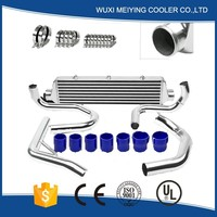 Refrigeration compressed bar&plate racing turbo intercooler siliver for wholesales