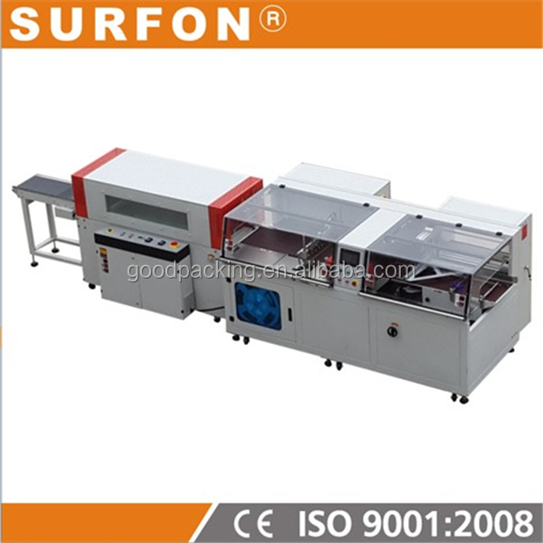 Automatic Highest Speed Film Wrap Machine And Shrink Tunnel