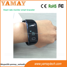 Factory Price of Smart Watch Phone! Fashion Wrist Band 2014 OLED Screen, Bluetooth 4.0 Smart Bracelet