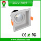 dimmable white color deep hollow 12w 24w squre recessed led downlight