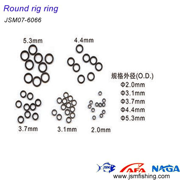 Fishing swivel round rig ring JSM07- 6066