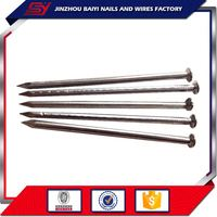 Transparent Smooth Shank Galvanized Iron Common Nails