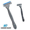 D316L HAWARD triple blade razor provide smoother&wonderful shaving