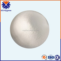 Super absorbent polymer ,white powder appearance, absorbent products