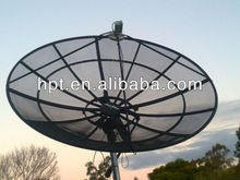 8 feets aluminium c band good quality mesh dish