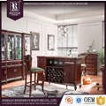 American Neo classical home furniture bar furniture set , New soild wooden furniture Bar furniture set customizable