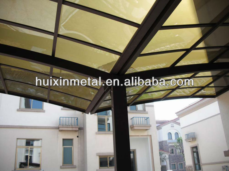 Outdoor PVC Canopy with all-Aluminum Frame