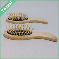 Custom wooden comb decorated with flower printe hair combs