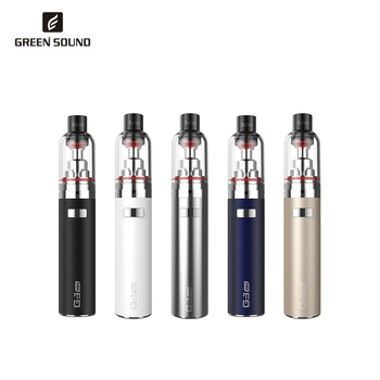 Shenzhen E-cigarette Green Sound G3 Mini Pilot Ecig Starter Kit 900mAh Battery Vapor Wholesale