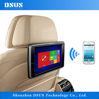 10 inch car headrest dvd player with Wifi display for car and home