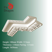 HD-102130-E plaster cornice mouldings