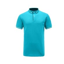 Sport design 100% cotton polo t-shirt