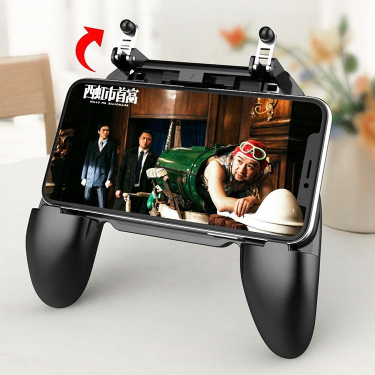 new hotsale holder 3 in 1 gamepad <strong>w10</strong> handle wireless <strong>touch</strong> screen controller without battery