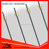 Professional high carbon fiber arrow for target shooting