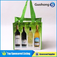 China professional manufacturer 6 bottle wine bag, custom wine bag