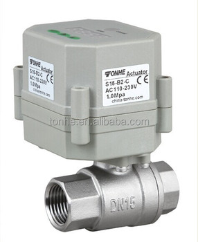 Factory Timer Controlled Automatic water Ball Valve (S15-S2-C)