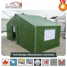 Military Waterproof Flame Retardant tents for Story and Living Room with sidewalls