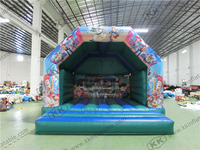 garden party use inflatables kids cartoon themed bouncy castle bouncers for sale