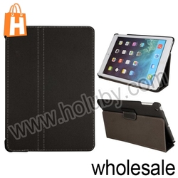 Stylish Cowboy Cloth Pattern Stand Leather Case for iPad Air