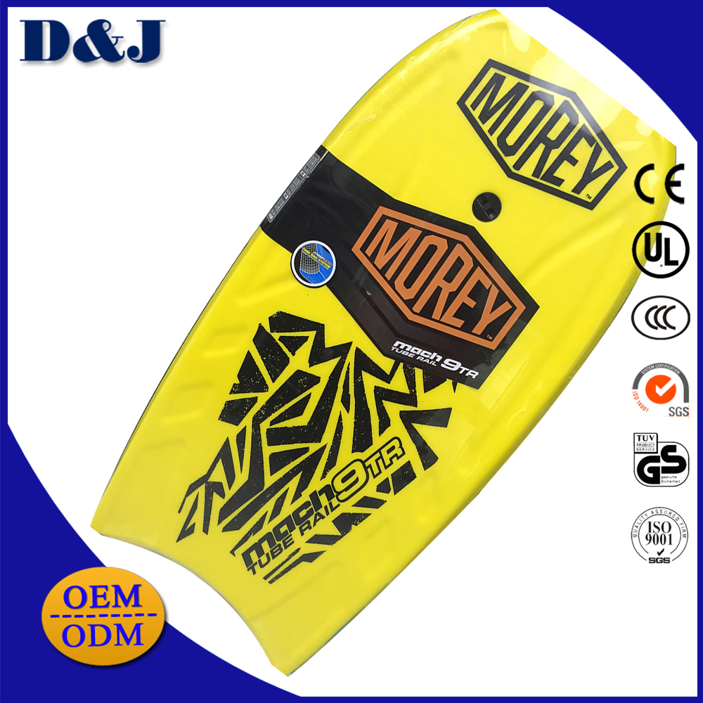High Quality Wholesale IXPE EPS EVA Surfing PE Bodyboard with Leash