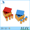 Latest Preschool educational wooden teaching sound cylinder toys montessori materials for children