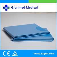 Dressings and care for materials properties single use impermeable aperture surgical eye drapes in disposable kidney dish