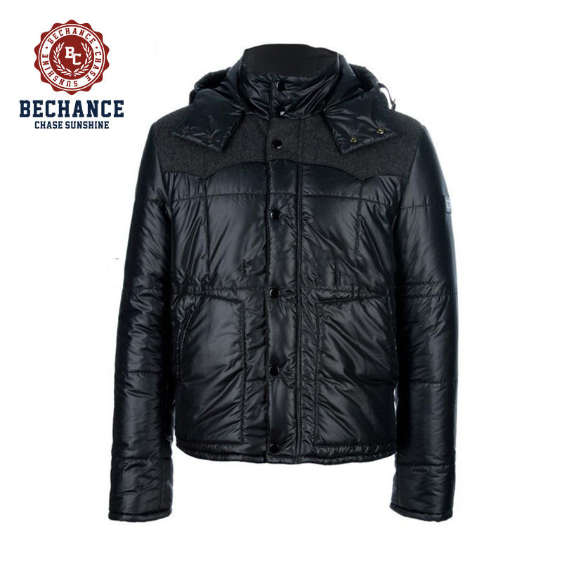 mens fashion padded garment
