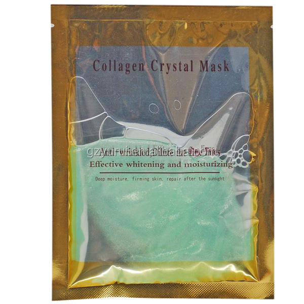Anti Aging Minimizing Pores Collagen Crystal Green Tea Face Mask for oil skin