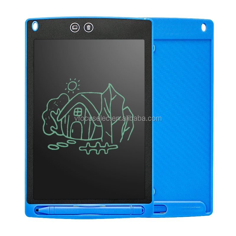 Custom logo 8.5 inch LCD graphics drawing tablet electronic rewritable writing note pad with eraser function