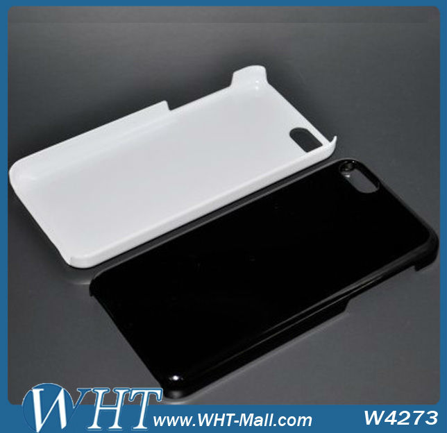 Para o iphone 5C Raw Material de Caixa Do Telefone Móvel, atacado PC Hard Case Transparente para iPhone 5C