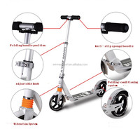 2015 Top quality strong high quality adult scooter/100% Alumnium