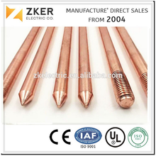2016 New Copper products underground copper ground earth rod