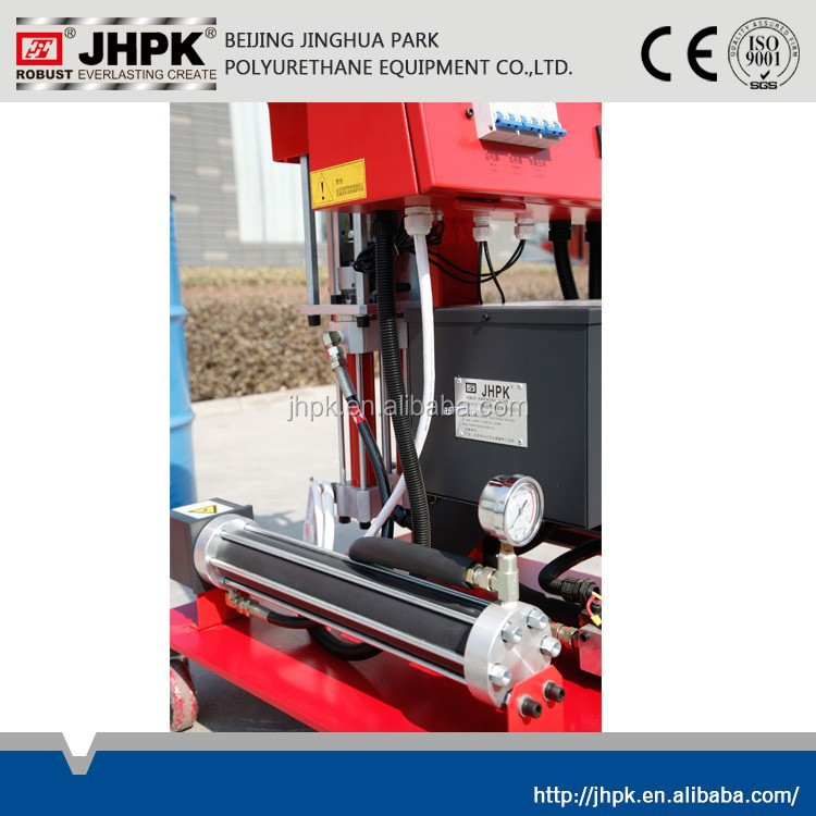 outer wall high pressure pu spray equipment ,JHPK-IIIB