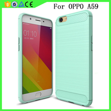 2017 Hot selling shockproof thickness 2mm TPU cell phone case for OPPO A59 case