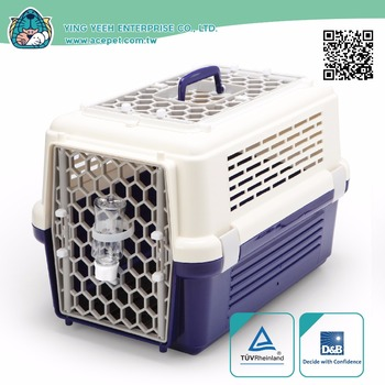 high qual new premium sunroof ventilation Pet Transport Box Small Animals Travel carrier cage