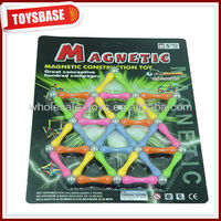 Magnetic toy construction set