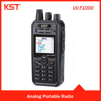KST UV-F1000 DTMF PTT-ID Dual Band Two Way Radio