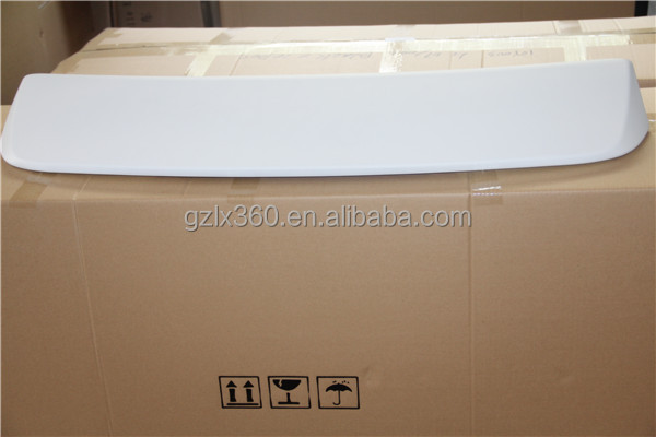 Lixing car parts 2005-2009 abs spoiler for Fielder
