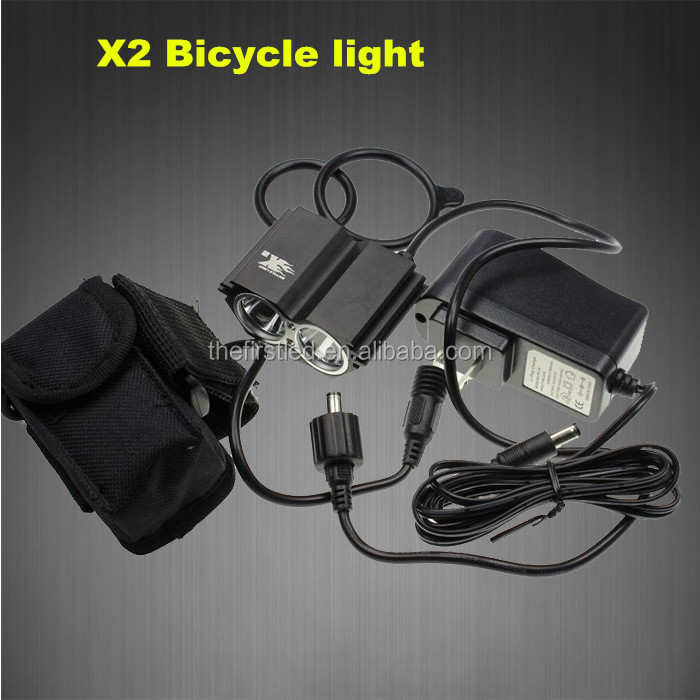 Jexree Hot sell Cree xm-l <strong>u2</strong> led bike bicycle light <strong>flashlight</strong>