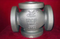 pewter casting carbon steel railway train parts