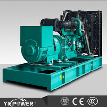 500KW diesel generator set open type powered by Cummins engine KTAA19-G6A