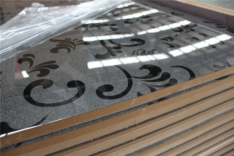 Factory embossed color black color white acrylic panels