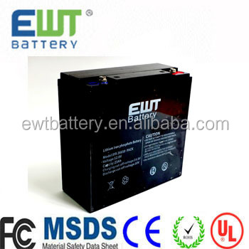 12v 40ah li-ion lifepo4 battery pack rechargeable lithium ion solar battery for powered led lights