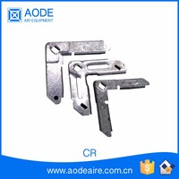 Galvanized Fixing Corner of duct work accessories for HVAC ventilation system, CR air conditioning parts