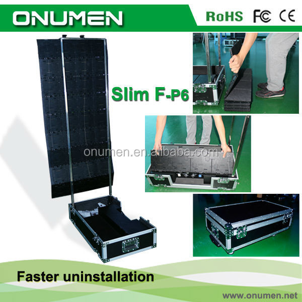 China New Advertising low price P6mm video led dot led commercial advertising led display module