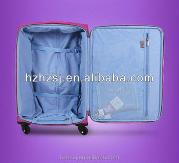 70D inside luggand bag polyester PU Coated Fabric